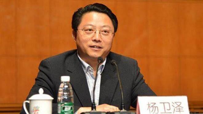 Bí thư Thành ủy Nam Kinh Dương Vệ Trạch đang bị CCDI điều tra. (Ảnh: China News)