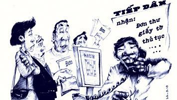 Tranh minh họa: Dũng Choai - Đại Đoàn Kết