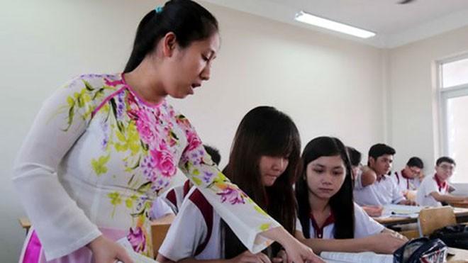Do quy định ngặt nghèo, cứng nhắc về định biên, nhiều trường có thiếu giáo viên cũng không tuyển được người mới - Ảnh: Đào Ngọc Thạch (Thanh Niên).