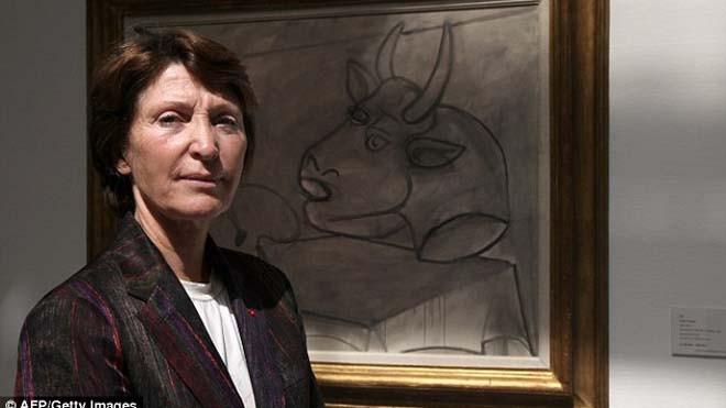 Bà Marina Picasso được thừa hưởng rất nhiều tranh của ông nội - danh họa Pablo Picasso, cũng như căn biệt thự nổi tiếng của ông sau khi vị danh họa qua đời.