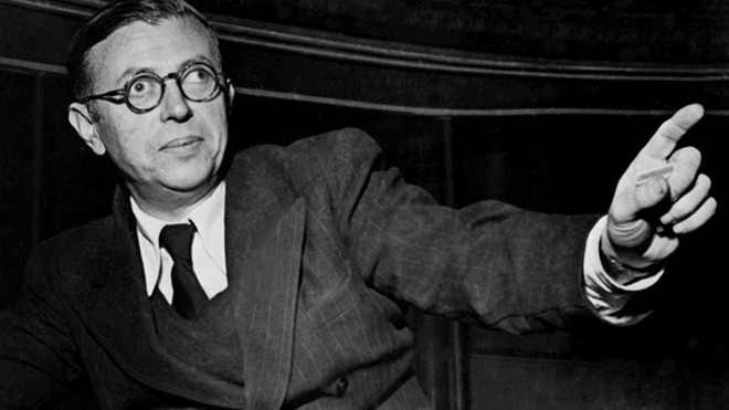 Nhà văn Jean-Paul Sartre (1905-1980)
