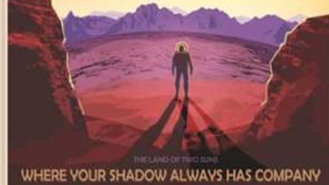 Một trong những poster quảng bá cho du hành vũ trụ từ NASA