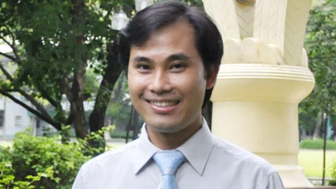 Giáo sư trẻ nhất Việt Nam năm 2014 -  Phan Thanh Sơn Nam (Ảnh: ĐH QG TP.HCM)