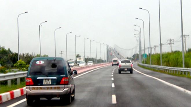 Toàn bộ 55 km cao tốc TP HCM - Long Thành - Dầu Giây sẽ được thông xe vào ngày 8/2. Ảnh: Hữu Công.