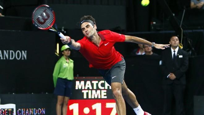 Federer dư thừa thể lực cho trận đấu kéo dài 70-90 phút