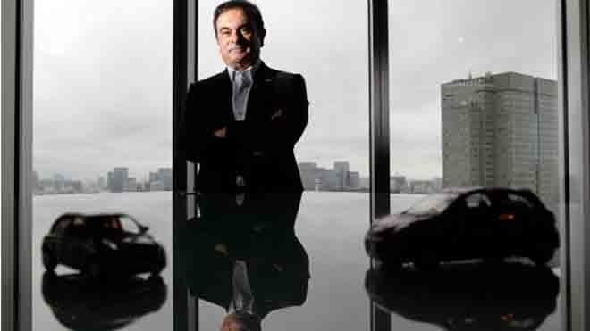 Carlos Ghosn cùng lúc lãnh đạo Renault, Nissan và AvtoVaz.