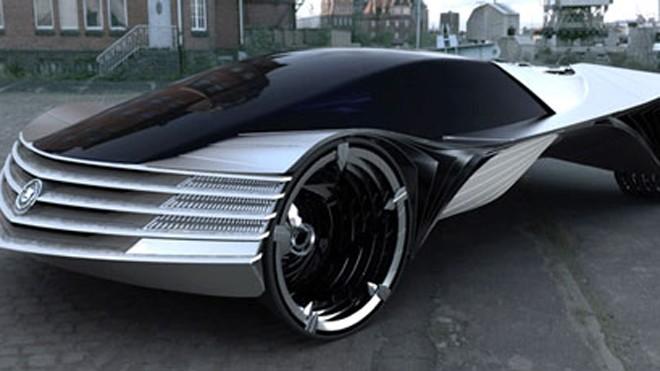 Thiết kế huyền bí và uyển chuyển của Cadillac WTF