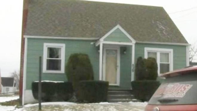 Căn nhà nơi ông James Shaffer sinh sống. Ảnh: WJAC TV