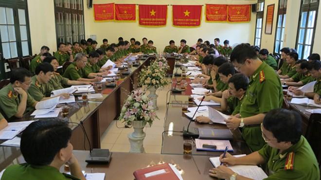 Công an TP Hà Nội là cơ quan thường trực của BCĐ Phòng, chống khủng bố