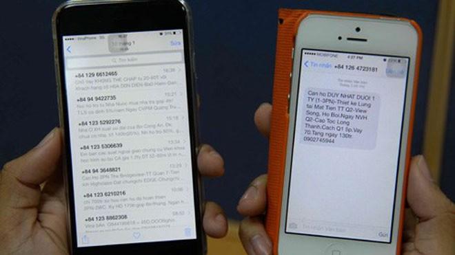 """Nạn tin nhắn, cuộc gọi """"rác"""" khiến người tiêu dùng bức xúc - Ảnh: Diệp Đức Minh/ Thanh Niên"""