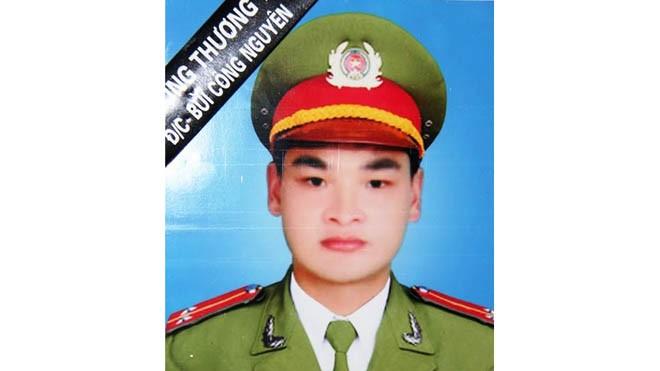 Di ảnh của Trung úy Bùi Công Nguyên. Ảnh: chinhphu.vn