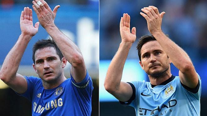 Lampard khoác áo đối thủ cạnh tranh ngôi vô địch với Chelsea.