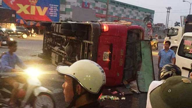 Hiện trường vụ tai nạn (ảnh: FB)