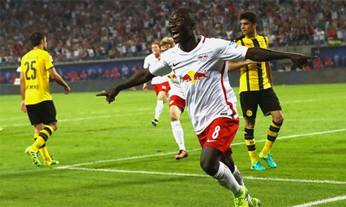 Leipzig đang bay cao tại Bundesliga, trở thành một hiện tượng thú vị của giải đấu. Ảnh: ESPN.