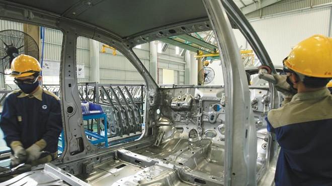 Trường Hải đầu tư cho sản xuất để từng bước thâm nhập vào chuỗi sản xuất của các thương hiệu lớn