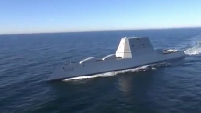 Sức mạnh tàu khu trục được ví như 'chiến hạm của Người Dơi'