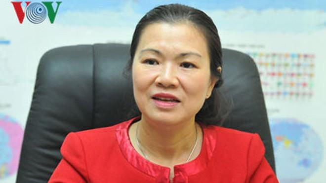 Bà Trương Thị Ngọc Ánh