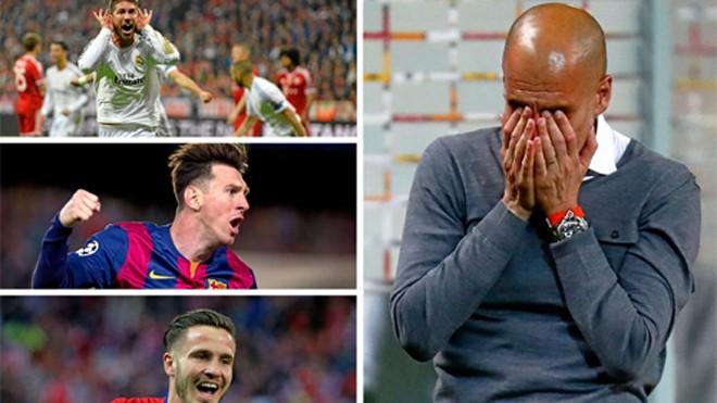 Pep Guardiola kém duyên khi trở lại quê hương.
