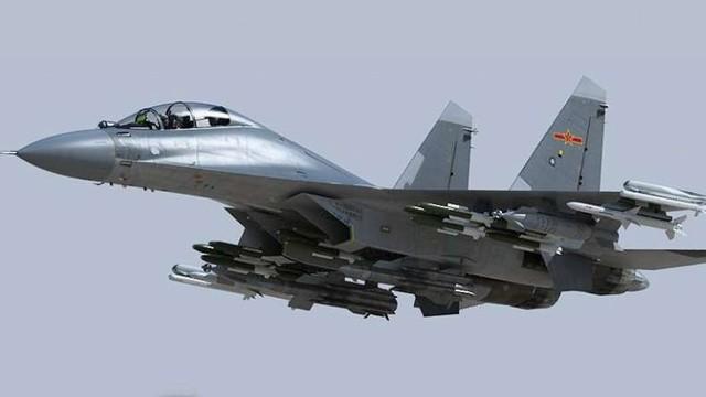 Máy bay chiến đấu J-16 của Trung Quốc (Ảnh: Newsx)