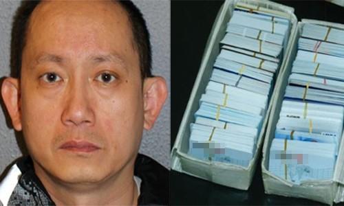 Yew đặt mua một lượng lớn thẻ tín dụng được làm từ các thông tin bị đánh cắp.
