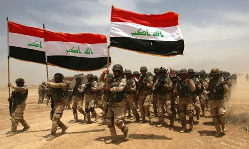 Quân đội Iraq tham gia chiến dịch giải phóng Mosul. Ảnh: Reuters