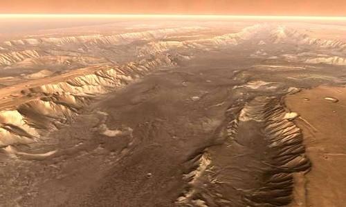 Biến đổi khí hậu có thể kéo dài đến 10 triệu năm trên sao Hỏa. Ảnh: NASA.