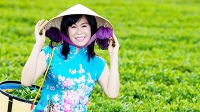 Nữ doanh nhân Hà Linh khi còn sống