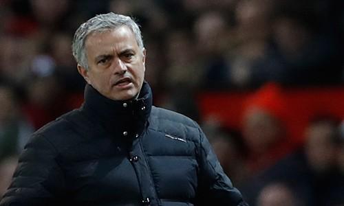 Mourinho tin rằng nếu có trọn ba điểm ở các trận hoà trên sân nhà, vị thế của Man Utd hiện tại sẽ rất khác. Ảnh: Reuters.