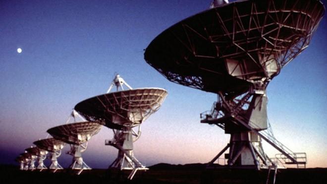 Kính thiên văn Very Large Array. Ảnh: Reuters
