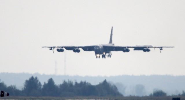 Một máy bay ném bom B-52 của Mỹ. (Ảnh minh họa: Sputnik)