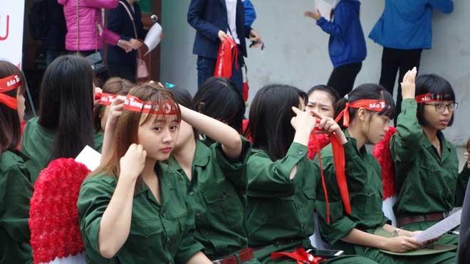 Chủ nhật Đỏ tại Hải Phòng: Hiến máu là nhu cầu tự thân