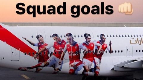 Cận cảnh 'chim sắt' thửa riêng cực xịn của Arsenal