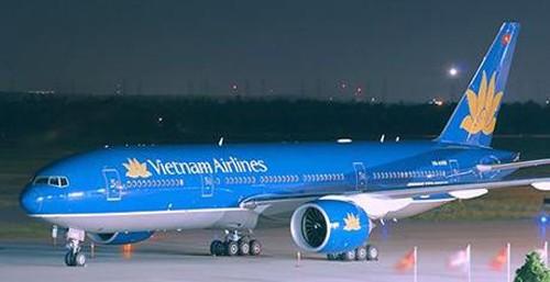 Một máy bay của Vietnam Airlines.