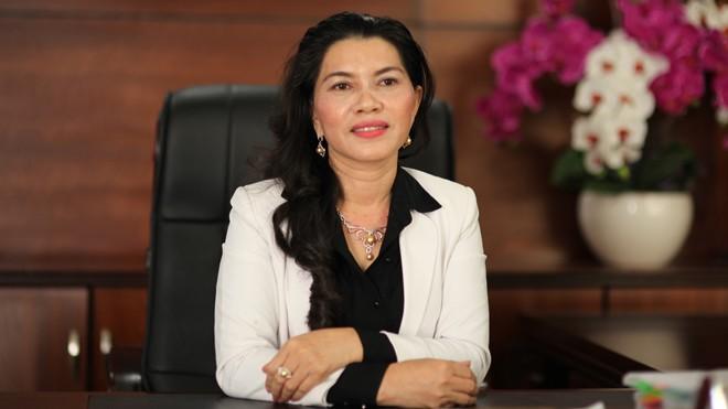 Bà Đặng Thị Kim Oanh, Tổng giám đốc Công ty cổ phần Địa ốc Kim Oanh.
