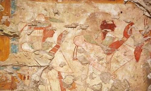 Ngôi mộ hơn 3.000 năm tuổi được tìm thấy ở thành phố Luxor, Ai Cập. Ảnh: Waseda University.