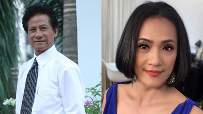 Lệ Thi - con gái Chế Linh (phải) chia sẻ cô không oán hận cha mình