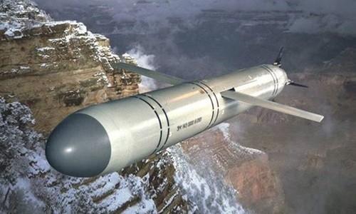Tên lửa hành trình Kalibr-NK phóng từ tàu chiến của Nga. Ảnh: Sputnik