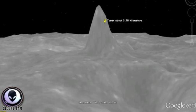 Ảnh: Google Moon