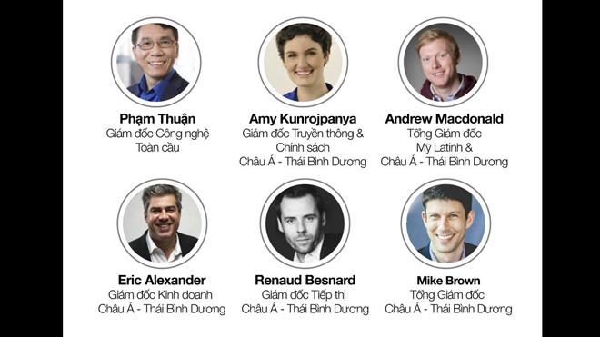 Các chuyên gia – lãnh đạo cấp cao của Uber sẽ tới Việt Nam trong thời gian tới