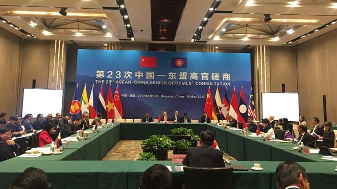 Asean - Trung Quốc nhất trí dự thảo khung COC
