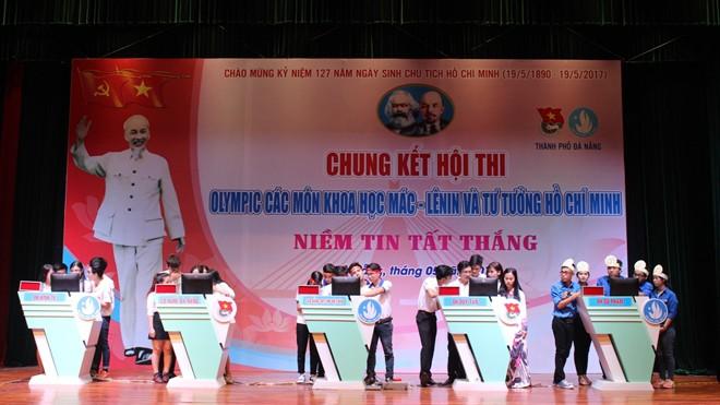 1.Vòng chung khảo Hội thi với sự tham gia của 5 đội ĐH Sư phạm, CĐ Công nghệ thông tin Hữu nghị Việt  - Hàn, ĐH Kinh tế, ĐH Duy Tân và CĐ Nghề Đà Nẵng
