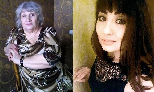 Bà Zoya và con gái Katya (không phải con ruột).