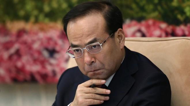 Tôn Chính Tài, người vừa mất chức bí thư Trùng Khánh. Ảnh: SCMP.
