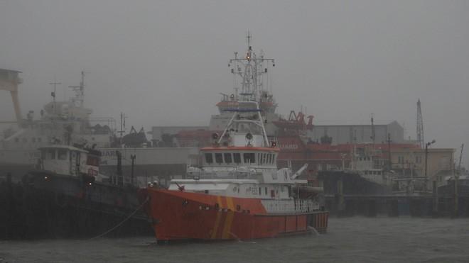 Cứu 11 thuyền viên trên tàu không có khả năng chống bão - ảnh 1
