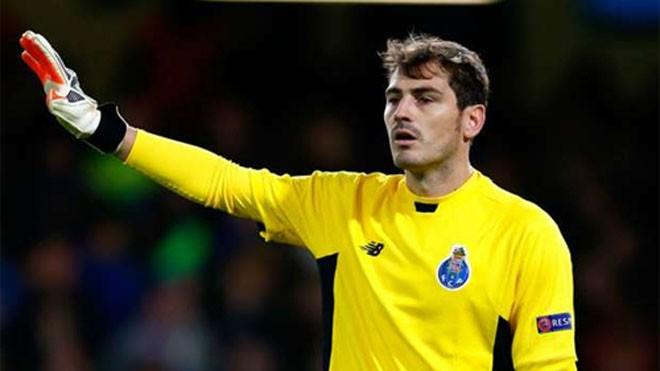 Casillas đang bắt mùa giải thứ ba cho Porto. Ảnh: Reuters