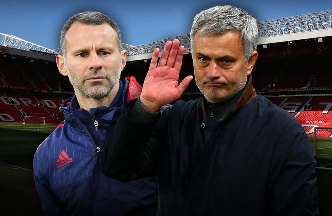 Giggs nhiều khả năng sẽ đối đầu Mourinho trong tháng 11.