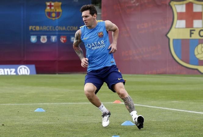 Messi đã sẵn sàng tái xuất.