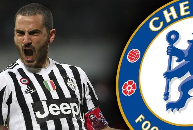 Chelsea chi 60 triệu bảng mua Leonardo Bonucci trong tháng 1/2017.