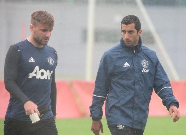 Henrikh Mkhitaryan và Luke Shaw đều đã bình phục chấn thương.
