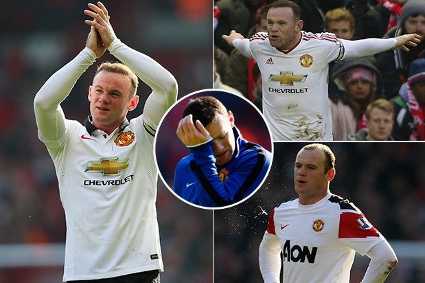 """Rooney bị """"ghẻ lạnh"""" ở derby nước Anh."""